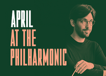 April at the philharmonic